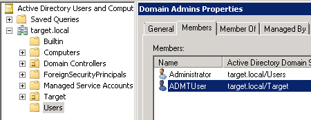 net user add domain admin
