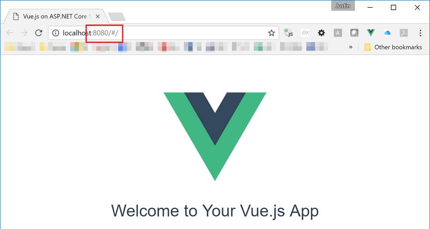 Running Vue js on ASP NET Core Applications - Kloud Blog