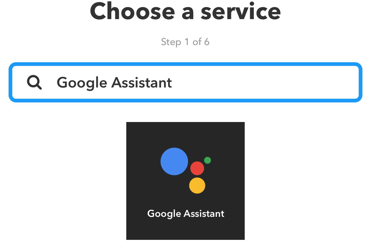 IFTTT_ChooseService