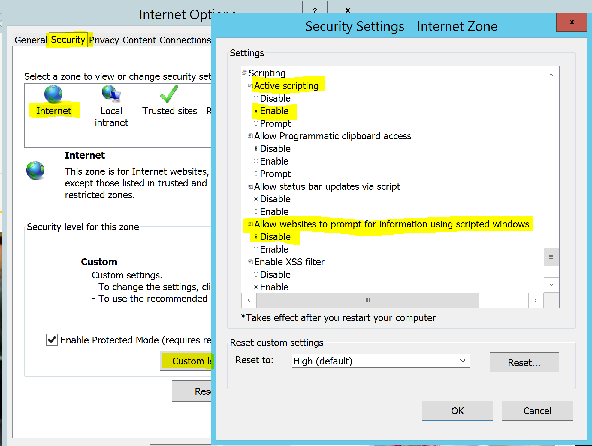 MIM Sync Service Account IE Security Settings.PNG